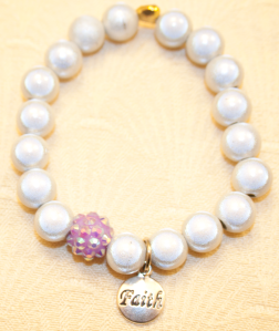 Faith Domestic Violence Survivor Bracelet
